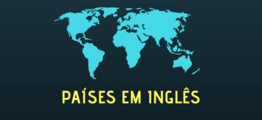 Lista de Países em Inglês